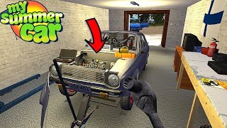 CAR WON'T START - ENGINE KNOCKING - My Summer Car Story #79