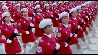 Chinese Female Soldiers Parade - Links 2 3 4 (Rammstein) (Creative Commons)