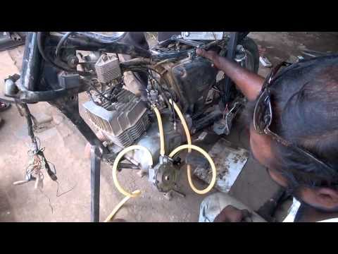 LPG gas kit for two wheeler mechanical engineering project topics