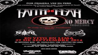 FAITH OR FEAR PUNISHMENT AREA LIMA PERU 2014