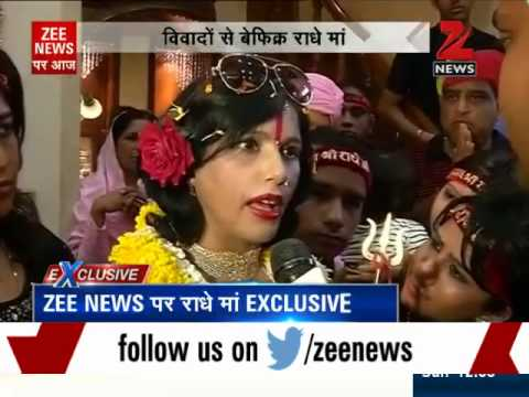 Controversial godwoman Radhe Maa talks exclusively to Zee News