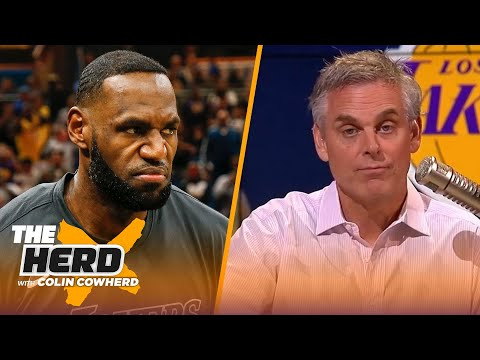 Colin reacts to Kenny Smith naming LeBron James as the 10th-best player of all time   NBA   THE HERD