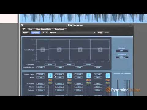 How to use multiband compression in Logic Studio Pro : Matt Donner