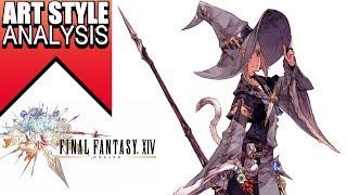 Final fantasy 14 Art-style analysis- Line art