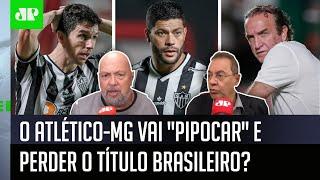 """""""O Atlético-MG tá ficando assustado? Não pode pipocar"""": Disputa com Flamengo gera debate"""