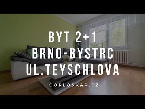 Video z << Prodej bytu 2+1, 62 m2, Brno >>