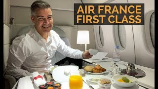 AIR FRANCE PRIMEIRA CLASSE - Paris-São Paulo - B777-300 - Experiência completa