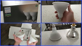 Philips Hue Outdoor White PAR-38 Lights Unboxing, Setup And Review!