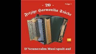 Biergarten Polka   Neuneralm Musi   20 Fetzige Harmonika Stücke   Folge 1