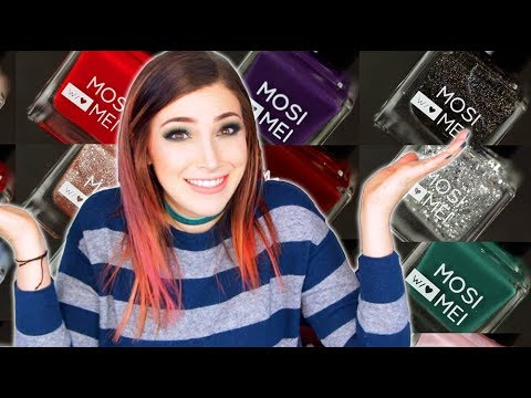 Swatch and Review: Mosi Mei Nail Polish Winter/Spring Shades || KELLI MARISSA