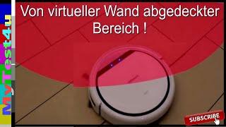 Saugroboter Virtuelle Wand