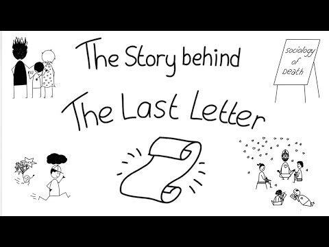 The Last Letter Book Trailer