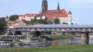 preview picture of video 'Sächsische Dampfschiffahrt - Meißen August 2013'