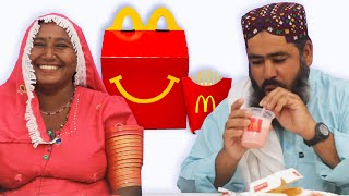 Tribal People Try McDonald's For The First Time