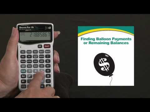 Qualifier Plus IIIx - Balloon Payments
