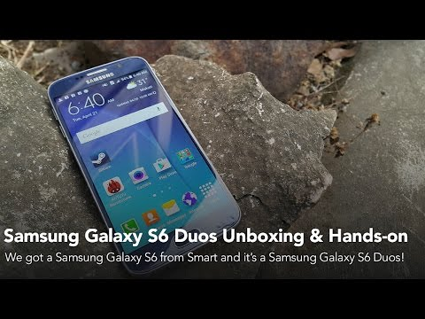 Samsung Galaxy S6 Duos Unboxing and Hands-on