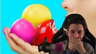 JesusAVGN смотрит-Съедобные игрушки антистресс–7 идей / Съедобные шарики Орбиз