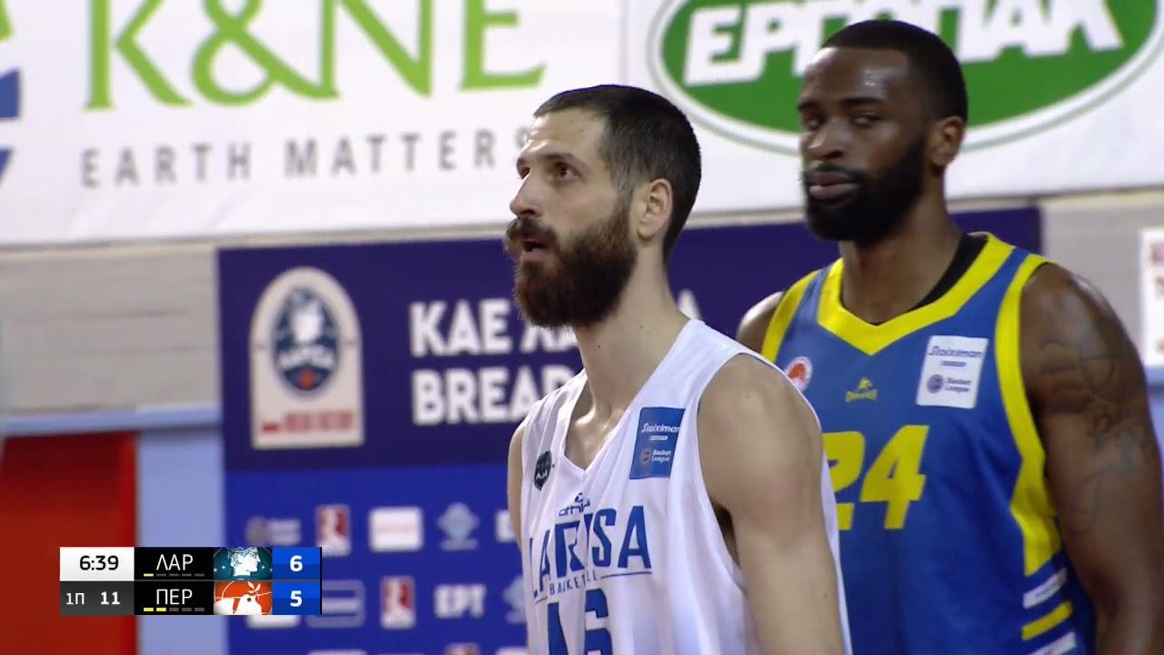 Basket League | Λάρισα – Περιστέρι 78-98 | 28/03/21 | ΕΡΤ