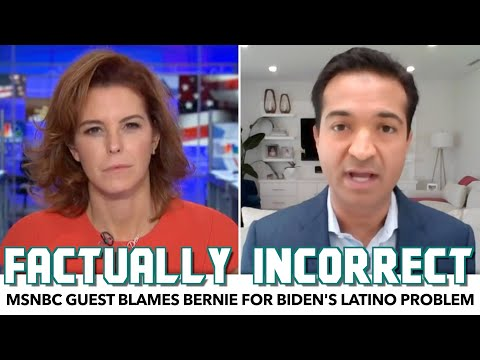 MSNBC Guest Blames Bernie For Biden's Latino Problem
