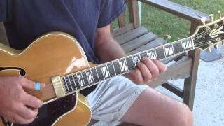 How to play Doc Watson Deep River Blues SLOWED DOWN finger picking