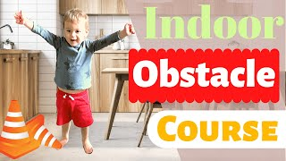 Toddler Indoor Obstacle Course