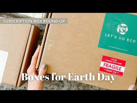 Subscription Box Round-Up: 3 Boxes for Earth Day