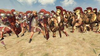 300 SPARTA VS 300 ROME - MASSIVE BATTLE TOTAL WAR ROME 2