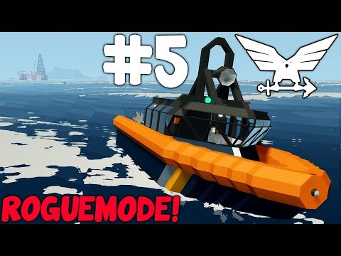 S2 - Delivering People To The Rig! - Stormworks: Build and Rescue  -  Rogue Mode - Part 5