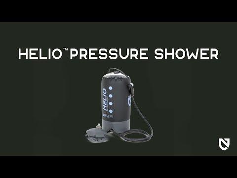Смотреть видео Портативный душ Nemo Helio Pressure Shower