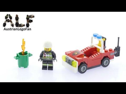 Vidéo LEGO City 30347 : La voiture de pompiers (Polybag)