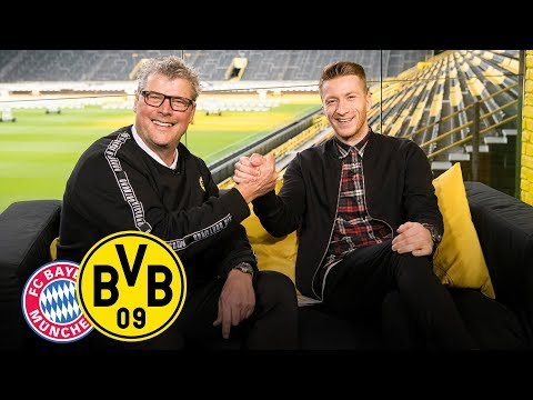 Baby party for the captain!  Matchday Magazine w/ Marco Reus   FC Bayern - BVB