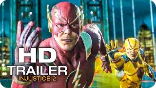 Injustice 2  Trailer Shattered Alliances, Part 2 (2017) The Flash vs Reverse Flash