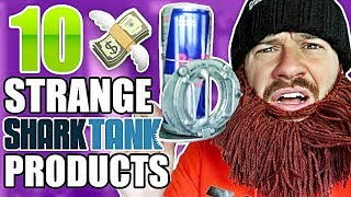 THESE PRODUCTS MADE MILLIONS?! (TESTING 10 STRANGE SHARK TANK PRODUCTS!!)