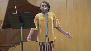 Laila Johnson Singing Queen Naija ( War Cry). In Vocal Recital 2019