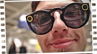 Eine VIDEO-BRILLE für YouTuber? - Snapchat Spectacles - Review
