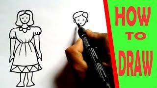 Drawing For Kids, HUMaN FIGURE