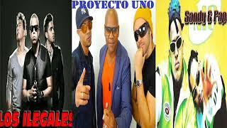 MIX ILEGALES, PROYECTO UNO, SANDY Y PAPO (AUDIO HD) MERENGUE HOUSE DJ PAPO FRANCISCO MENDOZA