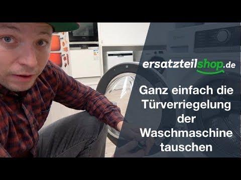 Türverriegelung Waschmaschine wechseln (kurze Variante) - so geht es!