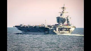 USS Abraham Lincoln Departs Norfolk, Va.
