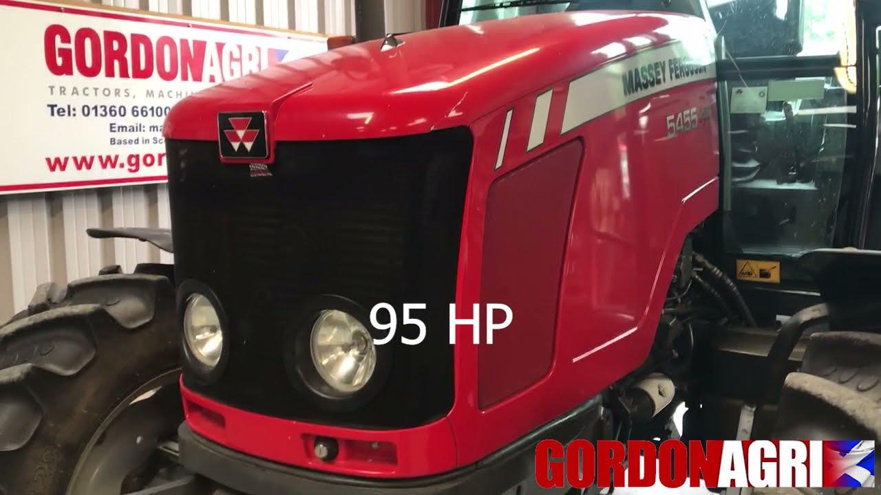 Massey Ferguson 5455 4WD