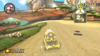 Shy Guy Falls - 1:56.300 - Shaun (Mario Kart 8 World Record)