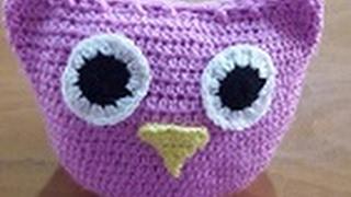 بومة كروشيه الجزء الثالث\how To Crochet Owl Part Three