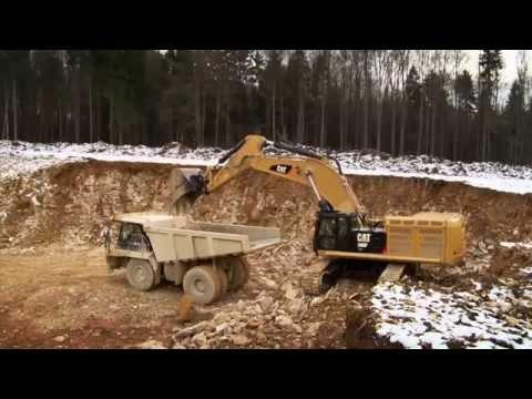 סרטון קאטרפילר בפעולה - ITE טרקטורים וציוד