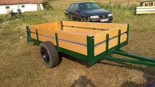 Remorca Motocultor-tractor