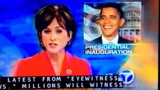 KABC ABC 7 Eyewitness News this Morning update January 20, 2009 6:25am