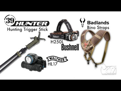 Test accessori per caccia di selezione: head lamps - Bino Straps - Bipede 39Hunter