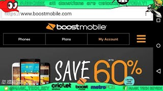 How To Activate Any Boost Mobile From Home Step by Step Tutorial MTR