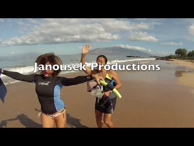 Hawaii Maui Snorkeling with Girls