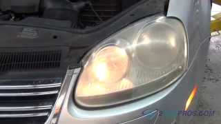 Headlight Bulb Replacement Volkswagen Jetta