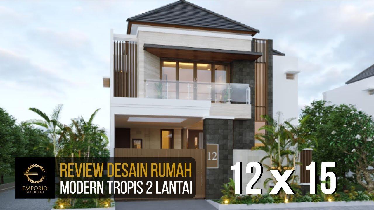 Video 3D Mr. Wijaya Modern House 2 Floors Design - Bali
